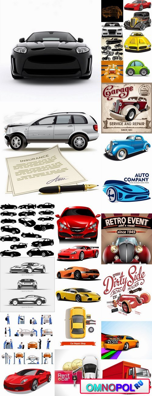 Car machine icon vector image 25 EPS