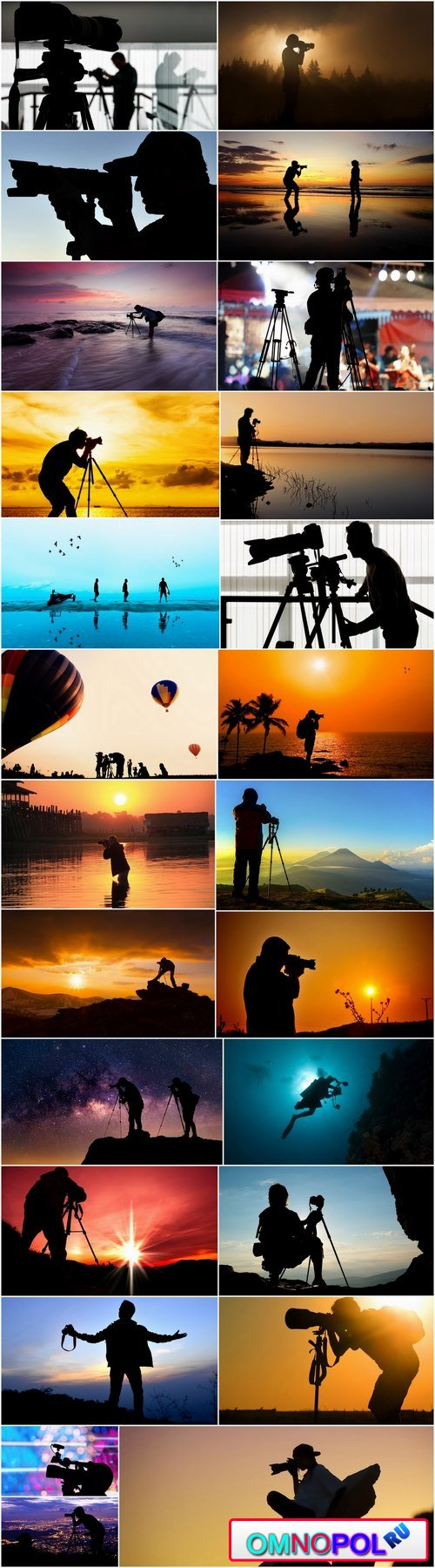 Silhouette photographer videographer nature photojournalist camera 25 HQ Jpeg